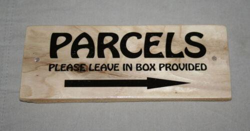 Personnalisé Nom mots Porche Signe Plaque Post Delivery conducteur Transporteur colis