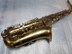 1966 Conn Alt/alto Sax/saxophone-made In Usa-afficher Le Titre D'origine