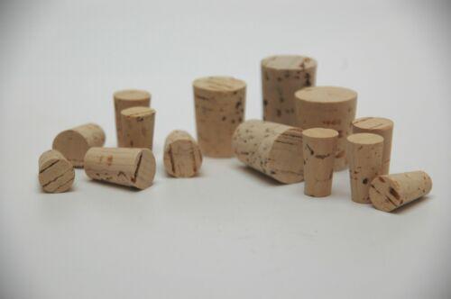 tube à essai Conique Bouchon Laboratoire//divers Diamètre Pointue-bouchon