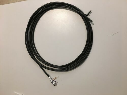 Two Twisted pairs with shield wire and foil five wires total 50 Feet