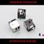 CONNECTEUR-D-039-ALIMENTATION-2-5mm-ASUS-K73-K73E-K73S-K73SD-K73VSV-X73BE-X73S miniature 1