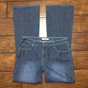 Fashion Bug Womens Jeans Size 10 Right Fit Red Triangle Denim Stretch Boot cut