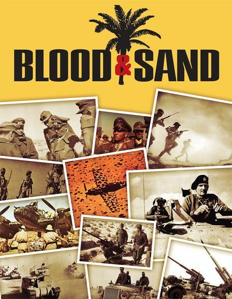 Blood & Sand The Campaign for North Africa 1941-42 Worthington Games Unpunched