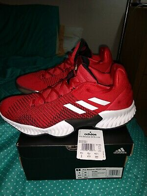 Adidas Pro Bounce 2018 Low Red
