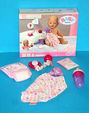 BABY BORN Basic Starter Set ZAPF CREATION Windel Schnuller Flasche... ohne Puppe
