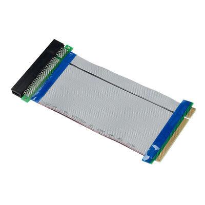 Durable 32 Bit Flexible PCI Riser Card Extender Flex Extension Ribbon Cable  US