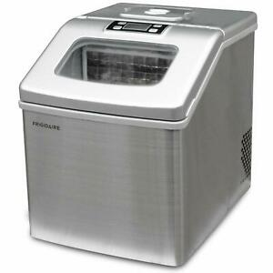Frigidaire-Countertop-Ice-Maker-Machine-40-Lbs-of-Ice-per-Day-Stainless-Steel