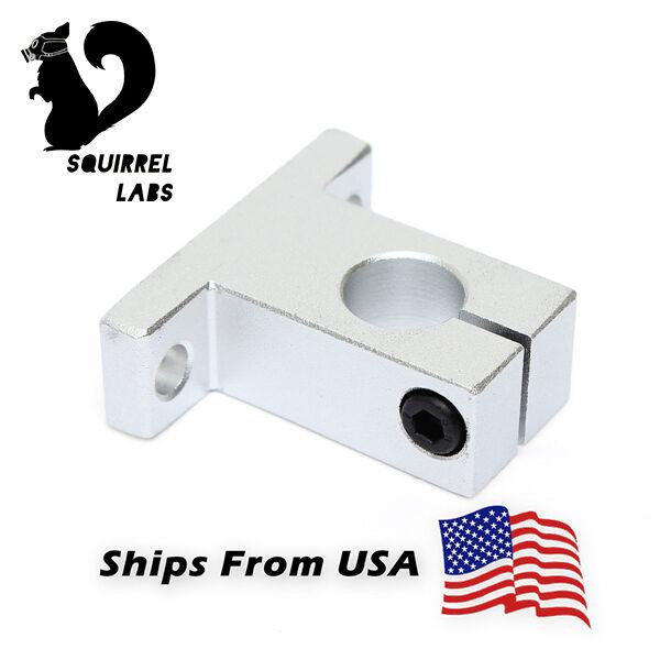 2 x SK12 Linear Shaft Supports 12mm CNC 3D Printing RepRap Bearing