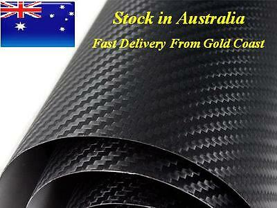 HN BUBBLE FREE Carbon Fiber Black Vehicle Vinyl Wrap 1.52m x 30m