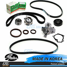 Gates HTD Timing Belt Kit Water Pump Serpentine Belt for 09-12 Hyundai Elantra