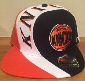 New York Knicks 47 brand Snapback hat Circuit cap 190182050556  6de343eb9ce