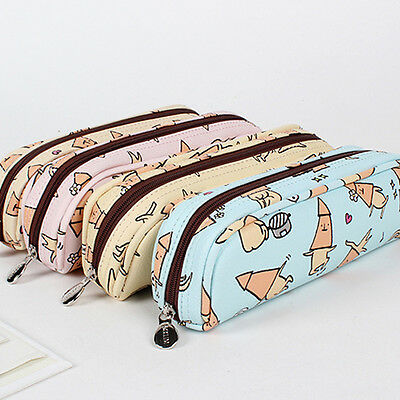 SSUEIM&CCLIM Squid Pencil case Pencil Pouch Pencil Box Bag School storage pouch