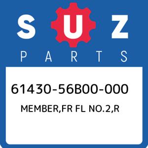 New Genuine OEM Part 61430-56B00-000 Suzuki Member,fr fl no.2,r 6143056B00000