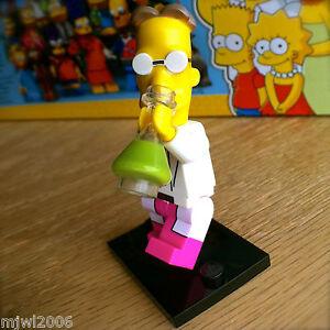 LEGO 71009 simpsons LL # 9 proffesor Frink