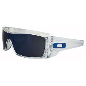 04212e2957 Oakley Sunglasses Batwolf OO9101-07 Clear Ice Iridium 700285444055 ...
