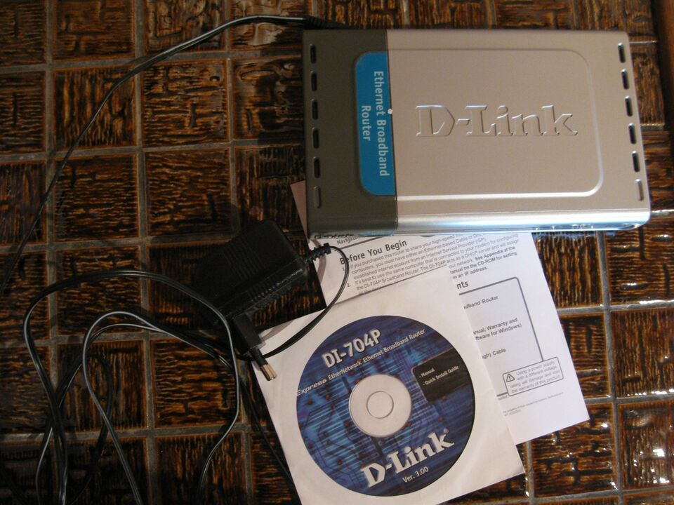 Router, D-Link, Perfekt