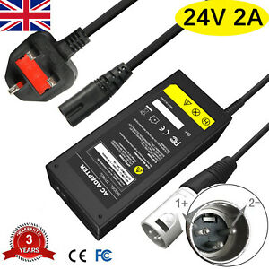 Mobility Battery Charger 24V 2A for Sterling Little Gem Mobility Scooter O