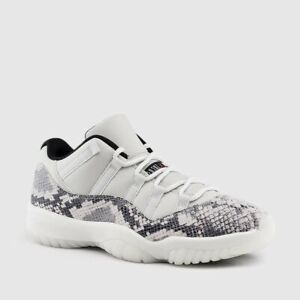 d09866c78d5 Nike Air Jordan Retro XI 11 LOW Light Bone Snakeskin CD6846-002 MEN ...