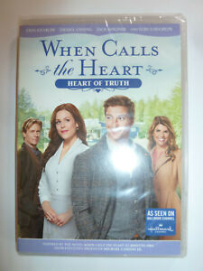 When-Calls-the-Heart-Heart-of-Truth-DVD-Hallmark-Channel-TV-movie-romance-NEW