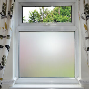 Bubble Free Frosted Window Self, Frosted Glass For Bathroom Windows