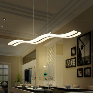Modern Pendant Lamp Acrylic Led Chip S