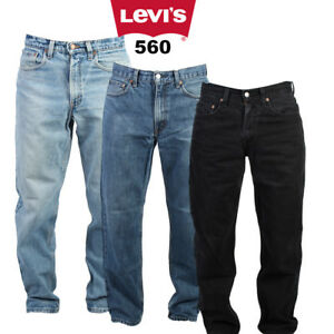 66882326 LEVIS 560 JEANS LOOSE FIT TAPERED DENIM VINTAGE 28 in. to 42 in. | eBay