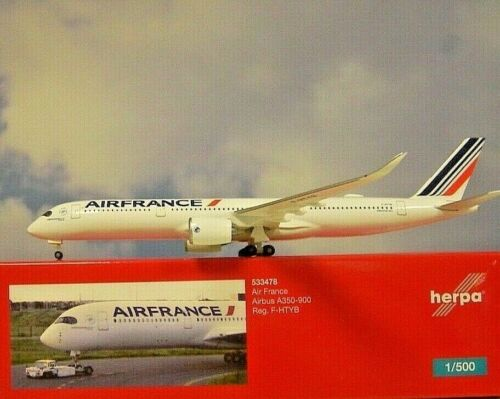 Herpa Wings 1:500 airbus a350-900 air France F-htyb 533478 modellairport 500