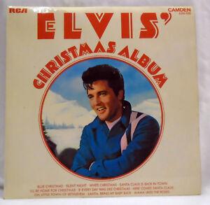 Elvis-Presley-Christmas-Album-vinyl-LP-record-CDS-1155