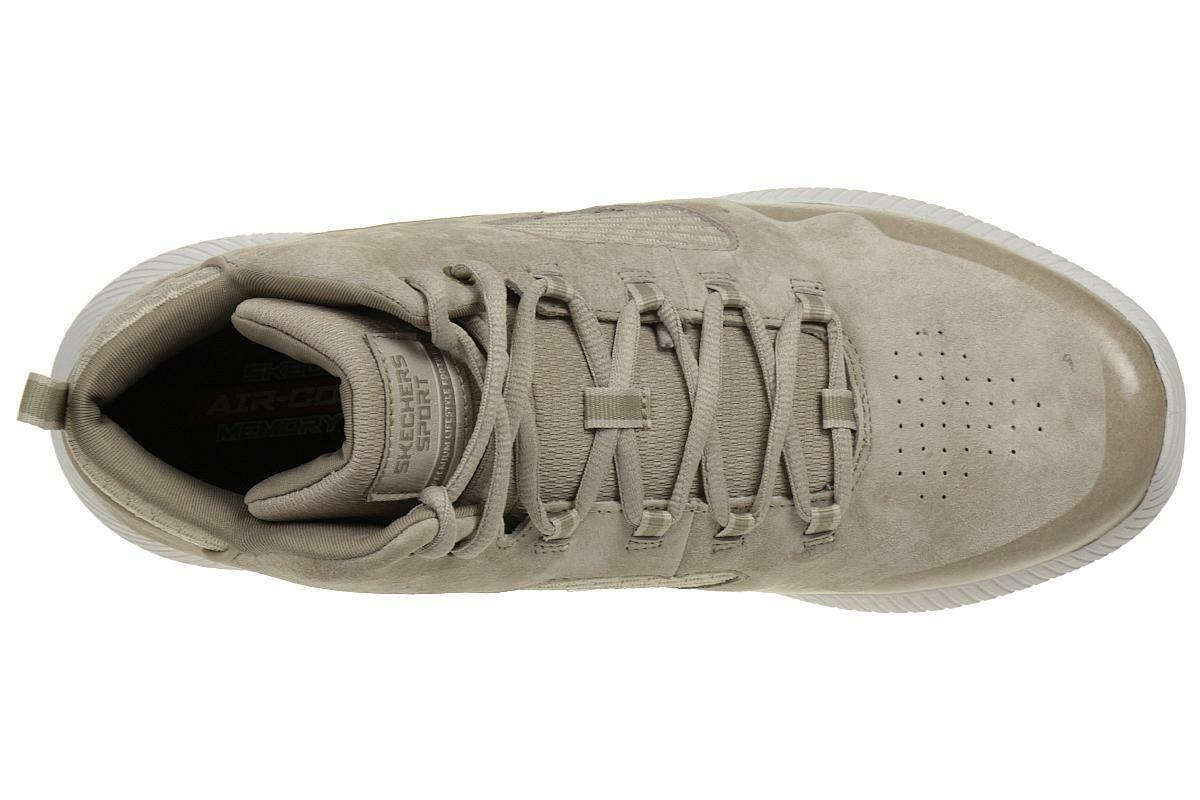... Skechers Depth Charge Taupe Drango Baskets Hommes Extérieur Chaussures  Taupe Charge Beige 182974 ... a550d5b83873