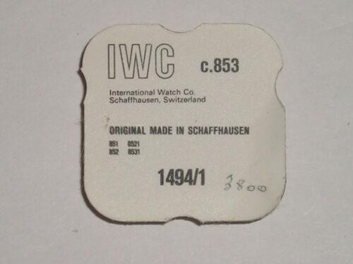 IWC 853 852 851 8521 8531 rocker arm / automatic power transmission  1494/1