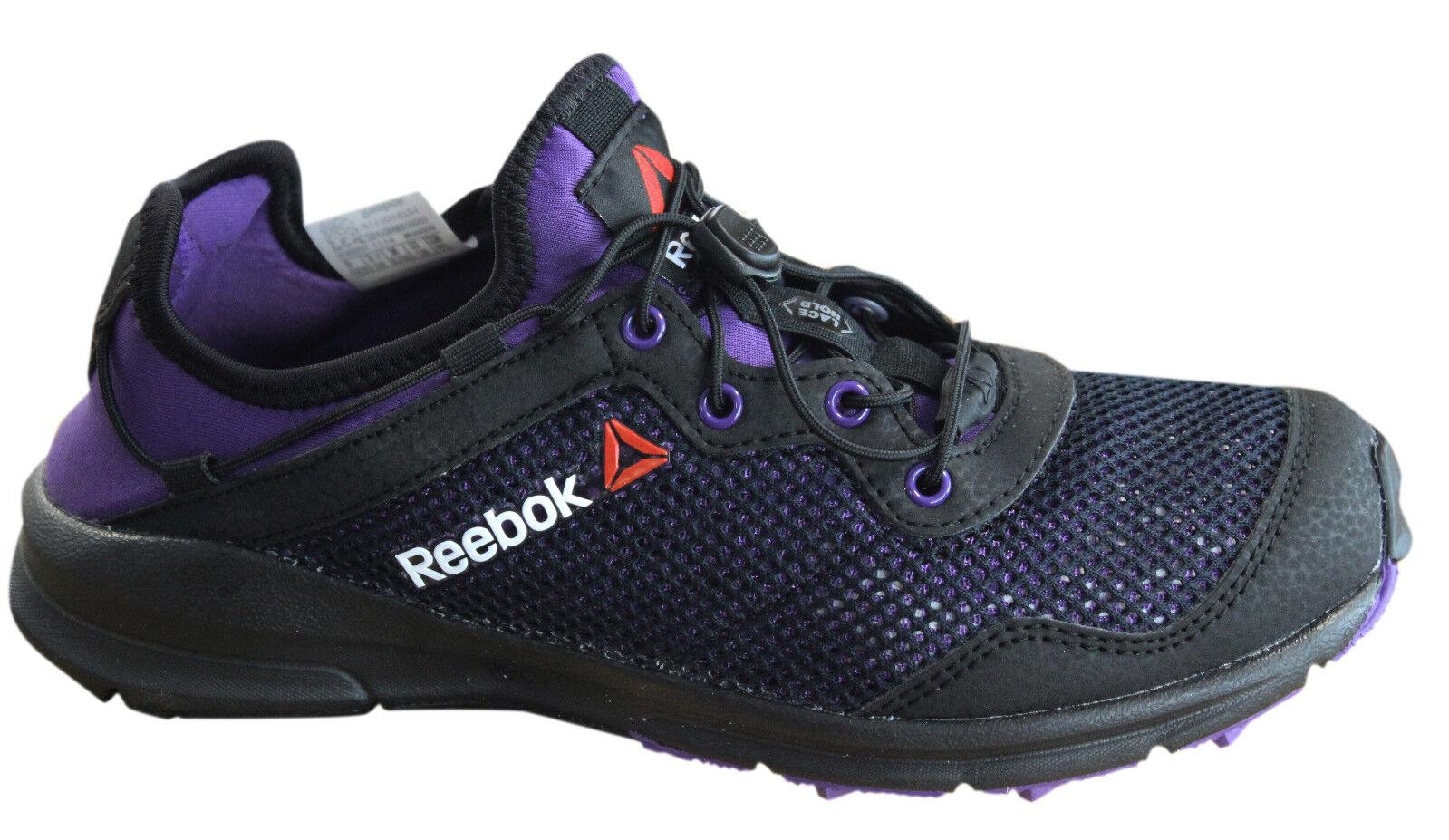 Reebok Trail uno Rush alternar Up Negro Púrpura Zapatillas para mujer M44998 P6