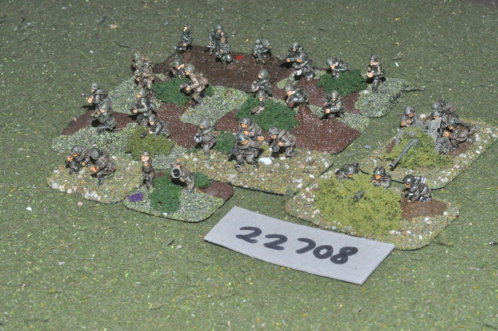 15mm WW2   russian - battle group inf world war 2 - inf (22708)