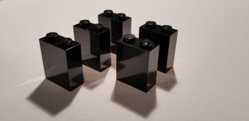 Black Star Wars Lego 5 X 3245c Basic Stone 1 x 2 Black 4618852 F42