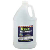 Rosa Marca Brand White Vinegar 5% 128oz 4/carton 7174299414 on Sale
