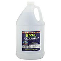 Rosa Marca Brand White Vinegar 5% 128oz 4/carton 7174299414 on Sale