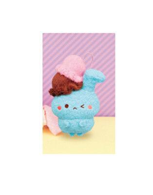 Furyu Sweets Chara Mode Laying White Cream Cat Creamya Plush 25cm AMU-PRZ8710 US