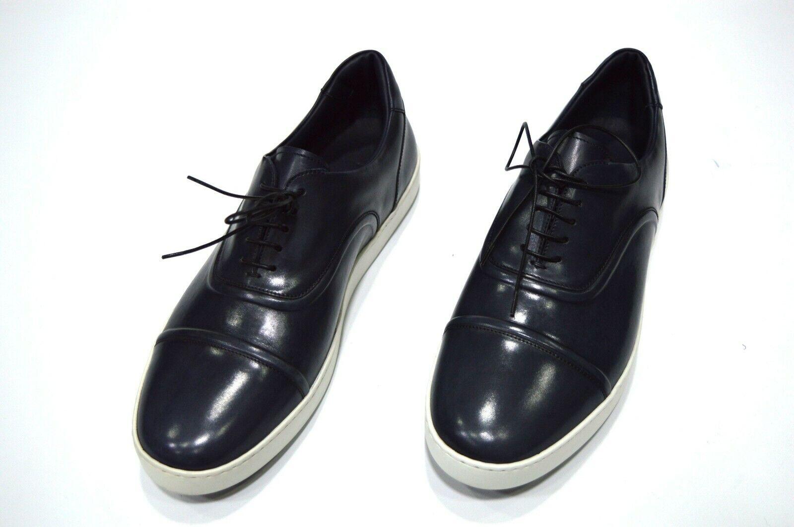 Nuevo Zapatos tenis STEFANO RICCI con el logotipo de lujo talla nos 9 (S837)