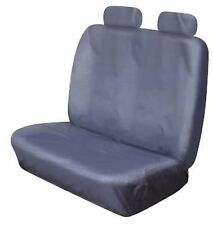 HEAVY DUTY FRONT DOUBLE BENCH GREY WATERPROOF SEAT COVER MERCEDES SPRINTER