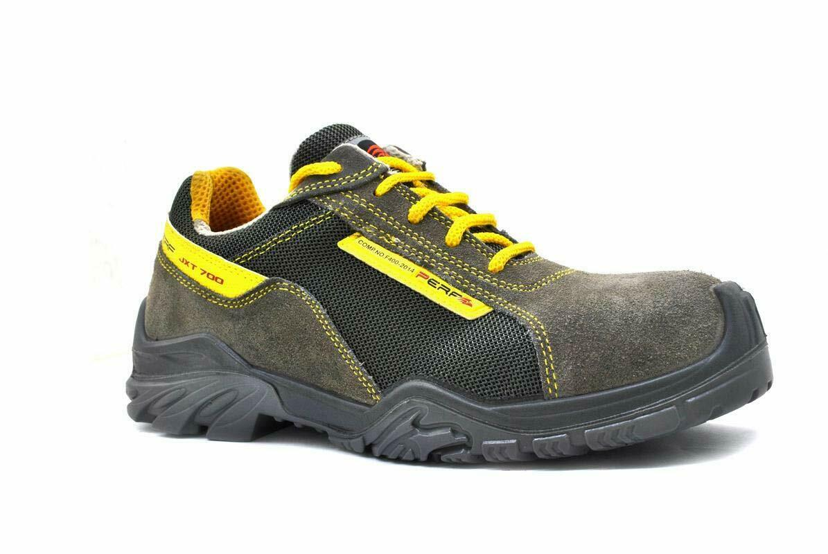 NEW Mens Steel Toe Hiking & Trail Work Trainers Size 6 to 12 UK - FORCE 4