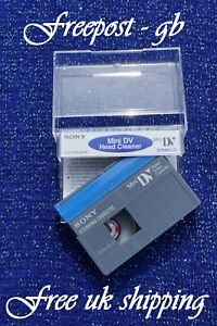 SUPERB-SONY-DVM-4CLD-MINI-DV-DIGITAL-CAMCORDER-HEAD-CLEANING-TAPE-CASSETTE
