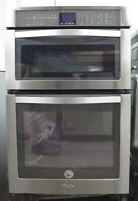 Whirlpool Woc54ec7as 27 Quot Microwave Combination Wall Oven