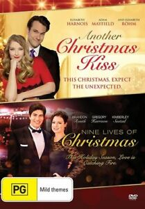 A Christmas Kiss 2.Details About Another Christmas Kiss Nine Lives Of Christmas Dvd 2 Movies Xmas Brand New R4