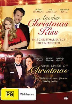 Another Christmas Kiss Nine Lives Of Christmas Dvd 2 Movies Xmas Brand New R4 Ebay
