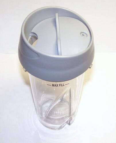 2x Ninja 16 oz Couvercle pour Cuisine Système pulse blender BL200 BL201 BL203 BL207 environ 453.58 g Tasse