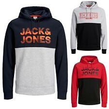 Jack&Jones Hombre Sudadera Jersey larga Invierno capucha jersey felpa 22200
