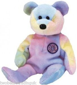 fa9f651ec9e TY BEANIE  B.B. THE BIRTHDAY BEAR (Beanie Babies Collection) (New No ...