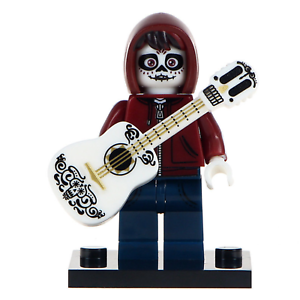 Skeleton Form Coco Inspired Film Lego Moc Minifigure Miguel