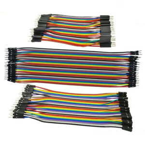 40pc-10-30cm-Dupont-Jumper-Wire-Ribbon-GPIO-Cable-Arduino-Breadboard-F-F-M-M-F-M