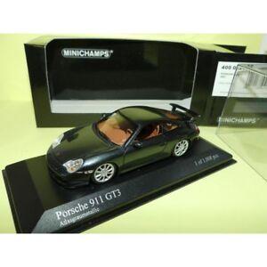 PORSCHE-911-GT3-996-2003-Gris-Atlasgrau-MINICHAMPS-1-43