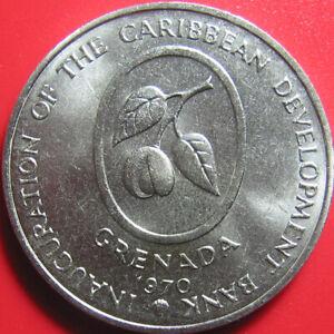 1970-GRENADA-4-FAO-COCOA-BEANS-BANANAS-CARIBBEAN-DEVELOPMENT-BANK-no-silver